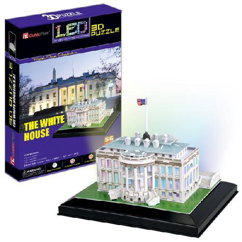 3D Пазл «Белый дом» (США) 56