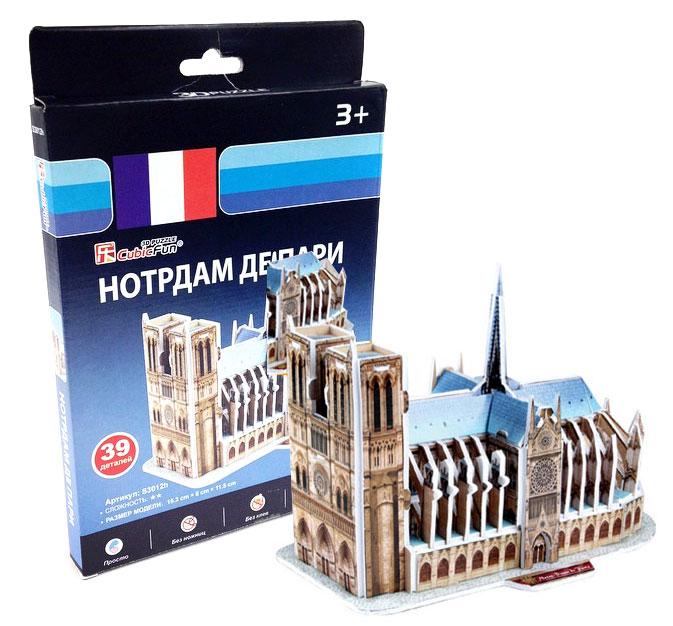 3D Пазл «Нотрдам де Пари»