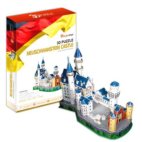 3D Пазл «Замок Нойшванштайн»