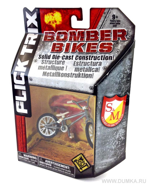 Фингербайк BMX Bomber Bike Metall - фотография 5
