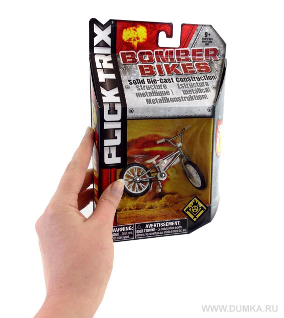 Фингербайк BMX Bomber Bike Metall - фотография 3
