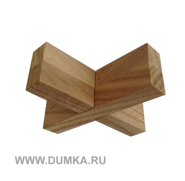 купить головоломку крест вертушка за 360 рублей в интернет