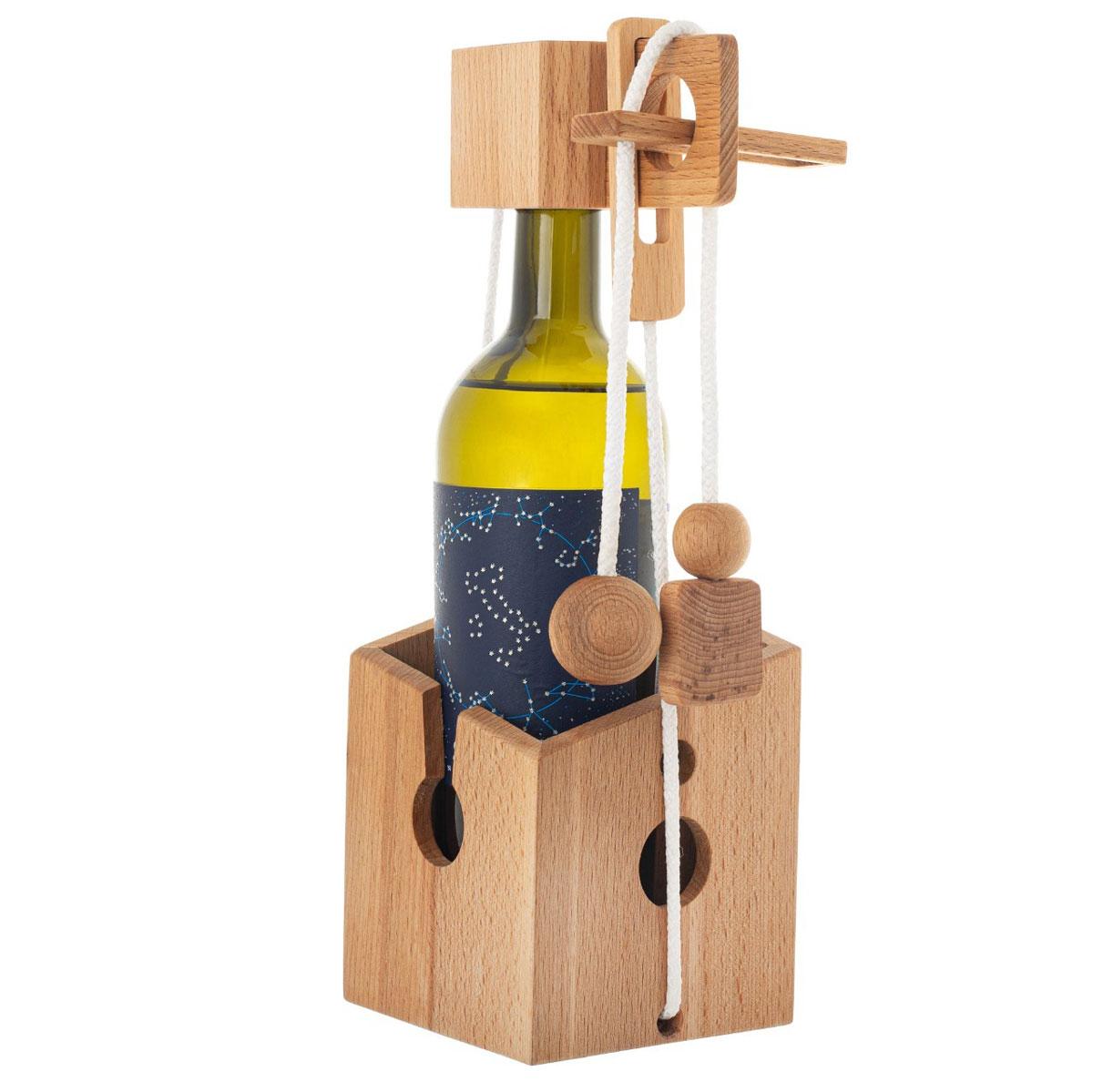 головоломка для бутылки вина купить