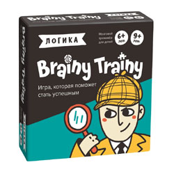 Игра-головоломка Brainy Trainy «Логика»