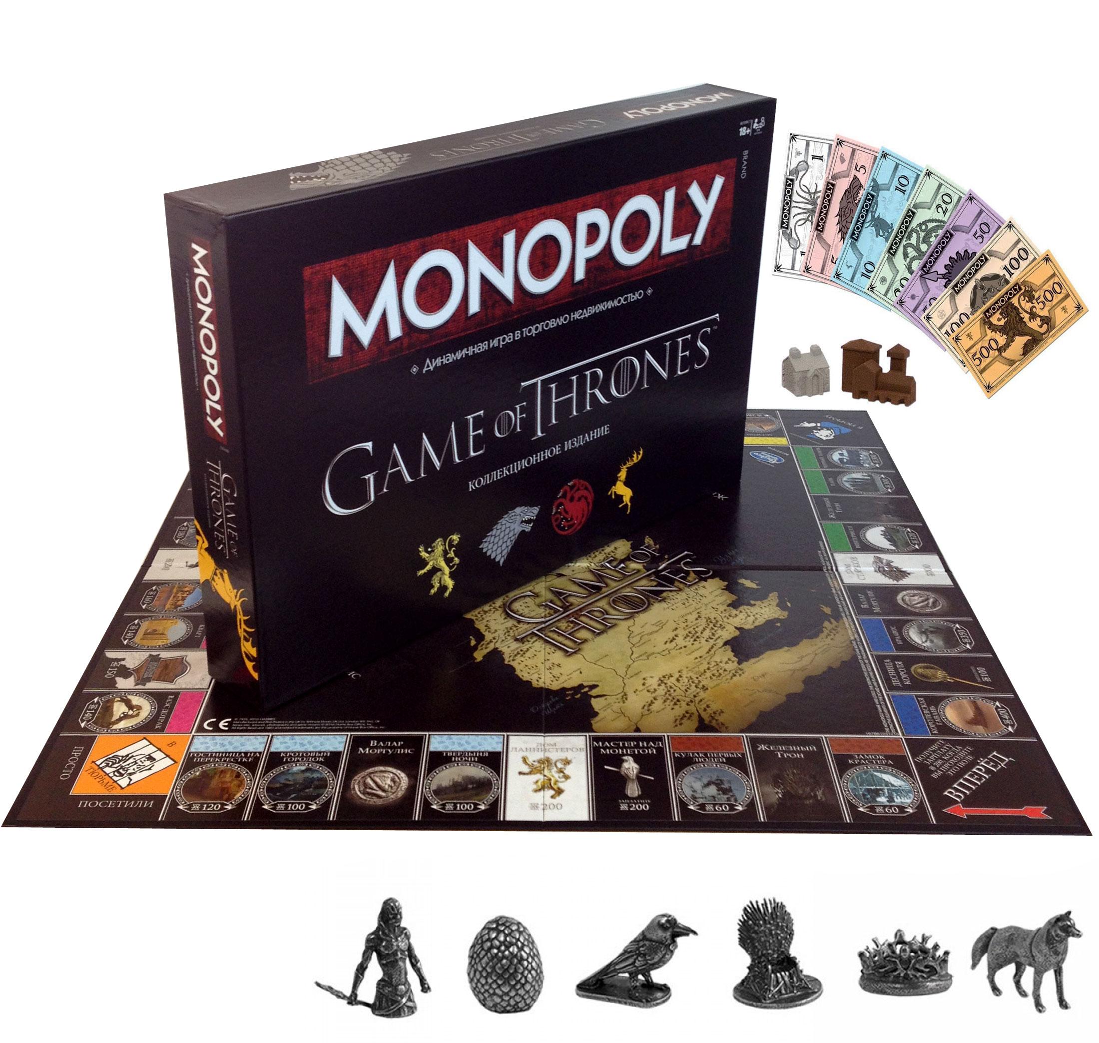 купить монополию игра престолов по выгодной цене в
