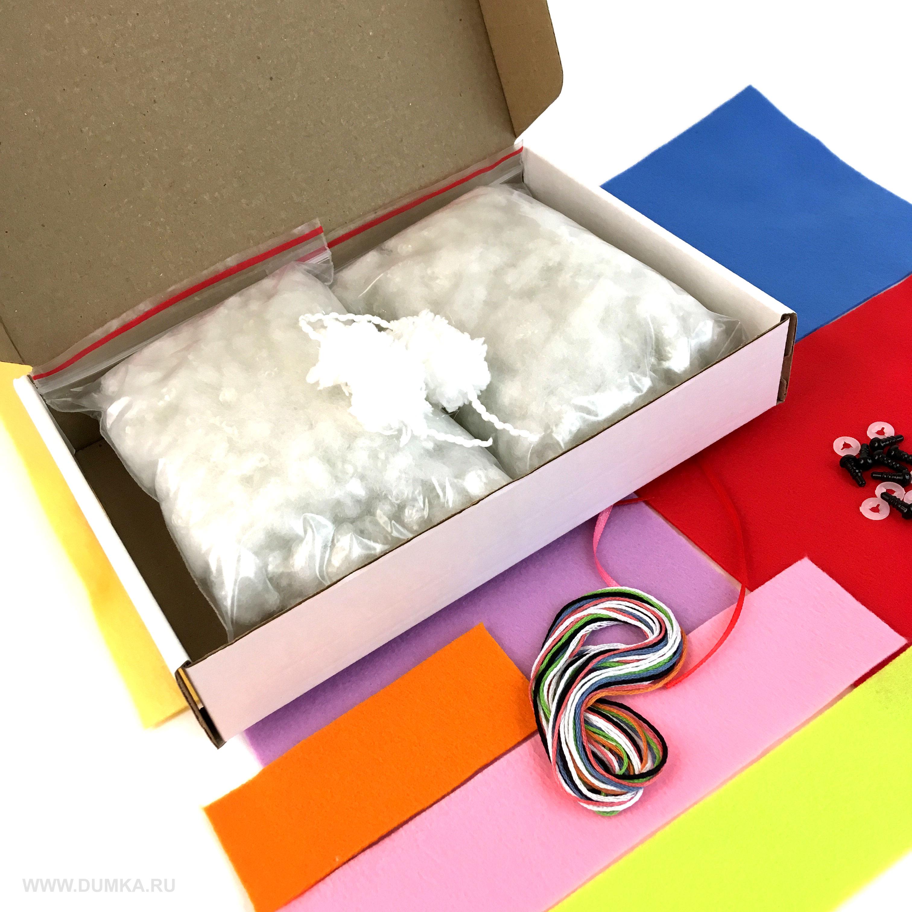 Набор для шитья игрушки «Семейка Снеговиков» - фотография 7