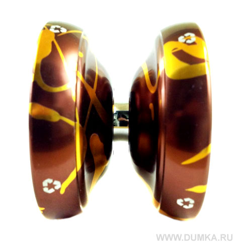 Yo-Yo 98 «Ecolog Splash BrownGold» - фотография 3