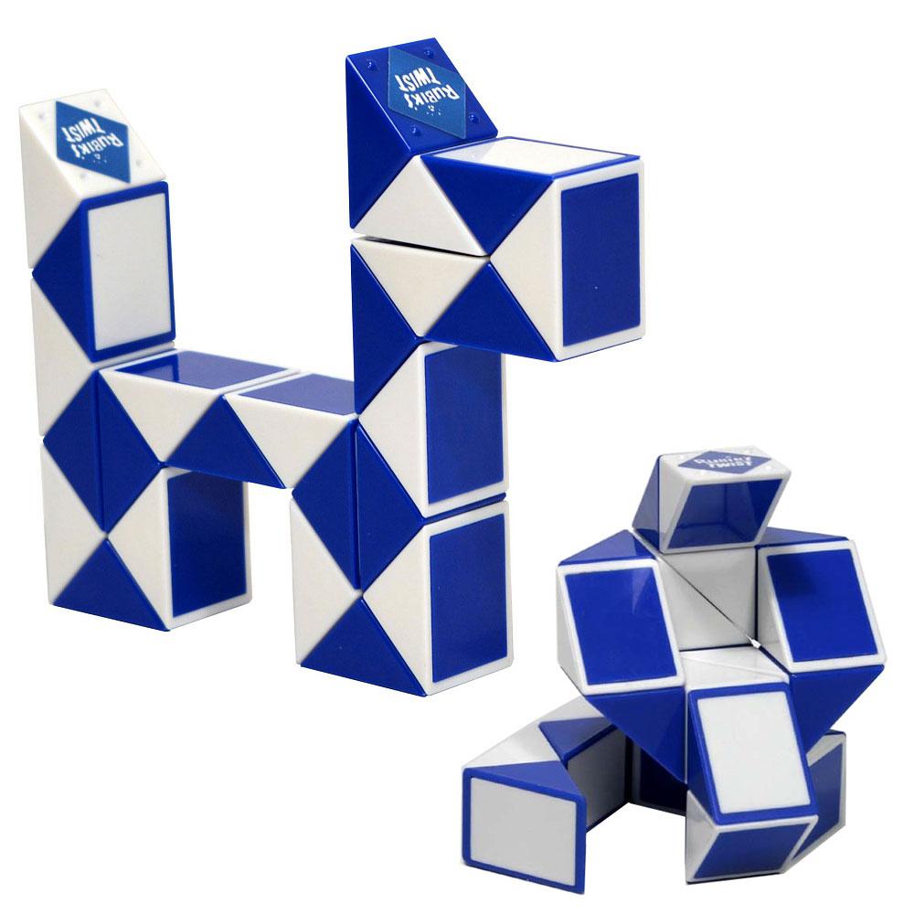 Как сделать из кубика змейки